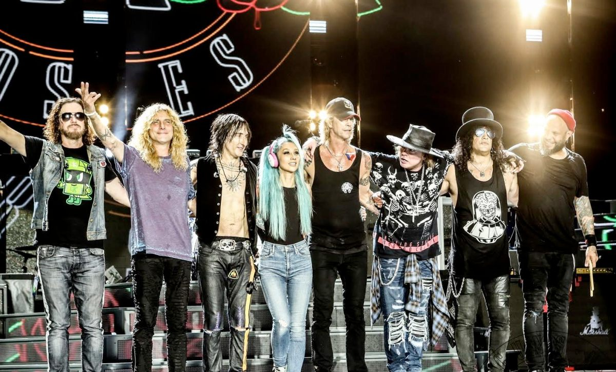 GUNS N' ROSES Excited About Working On New Album